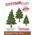 Cottage Cutz Elites Die Woodland Pine Trees
