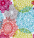 Anti-Pill Fleece Fabric 59\u0022-Urban Bright Stamp