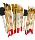 KINGART Paint Brush Value Pack 25/Pkg-Mixed Media