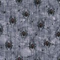 Halloween Glitter Cotton Fabric-Bewitched Spiders