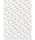 Nursery Flannel Fabric 42\u0027\u0027-Woodland Mini Dots