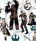 Star Wars: The Force Awakens Cotton Fabric 44\u0022-Heroes
