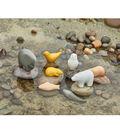 Sensory Play Animal Stone, Pack of 8