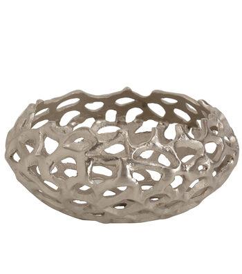 Indigo Mist Metal Coral Bowl