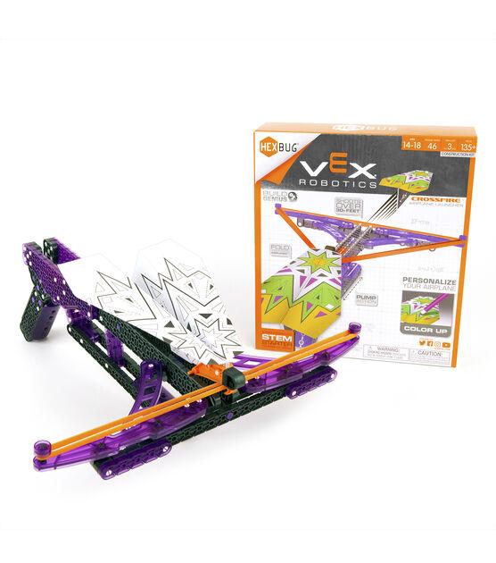 VEX Robotics Crossfire Paper Airplane Launcher Kit by HEXBUG 135pcs Age 14+