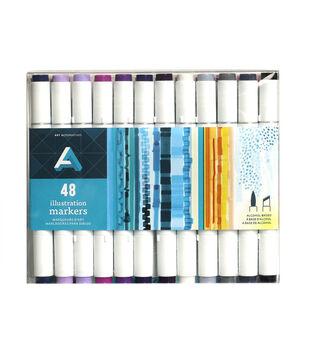 Art Alternatives Illustration Markers Set of 48