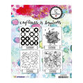 Art By Marlene Background Cling Stamp-Circles
