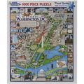 White Mountina Puzzle 1000pcs 24\u0027\u0027x30\u0027\u0027 Jigsaw Puzzle-Washington DC