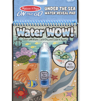 Melissa & Doug ON the GO Water Wow! Water-Reveal Pad-Under the Sea