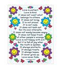 Carson-Dellosa The Love Verses 1 Corinthians 13:4-8 Chart 6pk