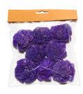 Fresh Picked Spring Farmhouse 8 pk Sola Blossoms-Purple
