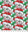 Christmas Cotton Fabric-Packed Santa Cats