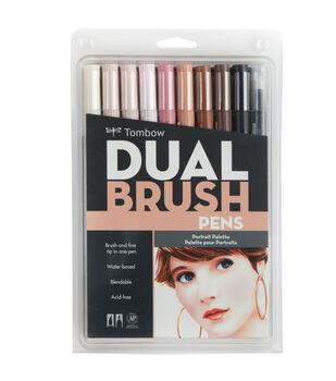 Tombow Dual Brush Pen Set-10PK/Portrait