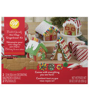 Wilton Build It Yourself Mini Village Gingerbread House Decorating Kit, , hi-res
