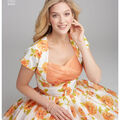 Simplicity Pattern 8439 Misses\u0027/Women\u0027s Dress-Size BB (20W-28W)