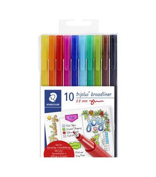 Triplus Broadliner Pens 10/Pkg