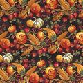 Harvest Cotton Fabric-Unraveled Cornucopia