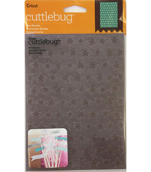 Cricut Cuttlebug Star Blanket 5x7 Embossing Folder