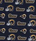 Los Angeles Rams Cotton Fabric -Logo