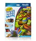 Crayola Color Wonder Teenage Mutant Ninja Turtles Metallic Coloring Pages&Markers