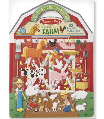 Melissa & Doug Puffy Sticker Play Set-On the Farm