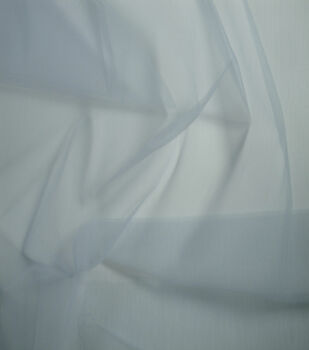 Netting Matte Tulle Fabric -Gray Dawn