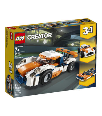 LEGO Creator 3-in-1 Sunset Track Racer Set