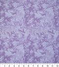 Keepsake Calico Cotton Fabric 43\u0022-Oil Slick Lilac