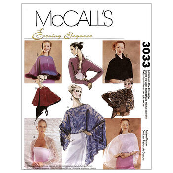 McCall's Misses Special Occasion-M3033