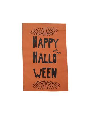 Maker's Halloween 12''x18'' Flag-Happy Halloween