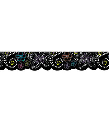 Bw Collection: Dots In Bloom Border