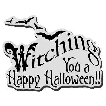 Witching U-cling Rubber Stamp