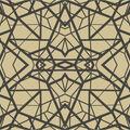 York Wallcoverings Wallpaper-Gold & Black Shatter Geometric