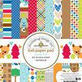 Doodlebug Double-Sided Paper Pad 6\u0022X6\u0022-Puppy Love