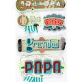 Jolee's Boutique Stickers-Grandpa Words