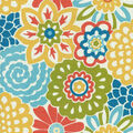 Waverly Sun N Shade Home Decor 8\u0022x8\u0022 Swatch-Button Blooms Fruit Cocktail