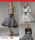 Simplicity Patterns Us1061D5-Simplicity Misses\u0027 Sew Chic Dress And Lined Jacket-4-6-8-10-12