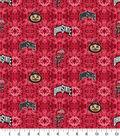 Ohio State Buckeyes Flannel Fabric-Tie Dye