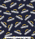 Los Angeles Chargers Cotton Fabric -Logo