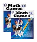 Mark Twain Media Math Games Resource Book, Grade 7-8, Pack of 2