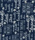Nursery Fabric - Twinkle Twinkle Navy