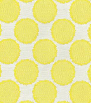 """Waverly Upholstery Fabric 55""""-Circling Lemongrass"""