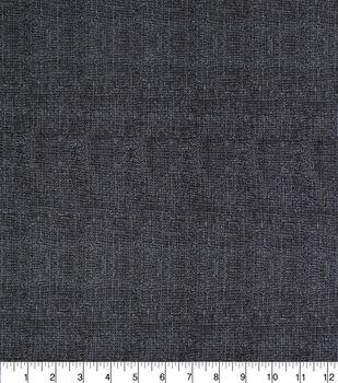 Keepsake Calico Burlap Texture Cotton Fabric -Black