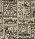 Nintendo The Legend of Zelda Cotton Fabric -Comic