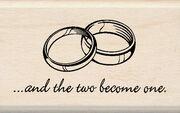"""Inkadinkado Mounted Rubber Stamp 1.25""""X2""""-2 Rings, , hi-res"""