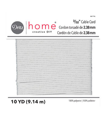 """Dritz Home 3/32"""" Cable Cord"""
