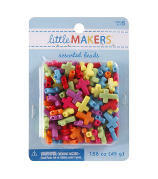 Little Makers 1.58 oz. Cross Beads-Multi