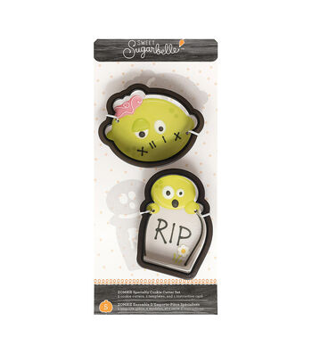 Sweet Sugarbelle Specialty Cookie Cutter Set 5/Pkg-Zombie