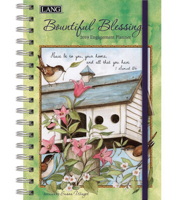 Bountiful Blessings 2019 Spiral Bound Engagement Planner