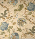 Home Decor 8\u0022x8\u0022 Fabric Swatch-Print Fabric Eaton Square Dion Green Tea